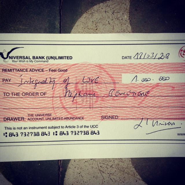 cheque abondance